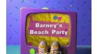 Barney's Beach Party Play Along (2nd Release)