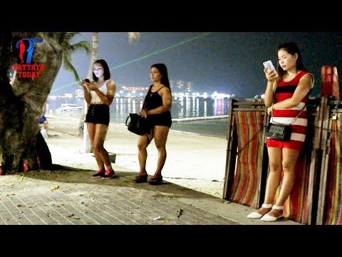 Xxx Mp4 Night Walk Along The Beach Road Pattaya March 2018 Vlog 219 3gp Sex