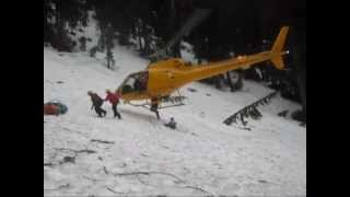 Crown Mountain Helicopter Rescue