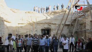 وزير الآثار يفتتح معبد «آمون رع» ويشهد أعمال ترميم إحدى المقابر بالأقصر