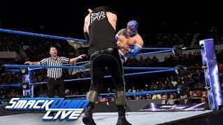 Sin Cara vs. Baron Corbin: SmackDown LIVE, Oct. 31, 2017