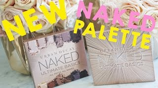 BRAND NEW URBAN DECAY NAKED ULTIMATE BASICS PALETTE - First Impression & Review