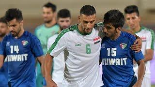 ملخص مباراة الكويت 2-2 العراق | مباراة دولية ودية 2018/9/10