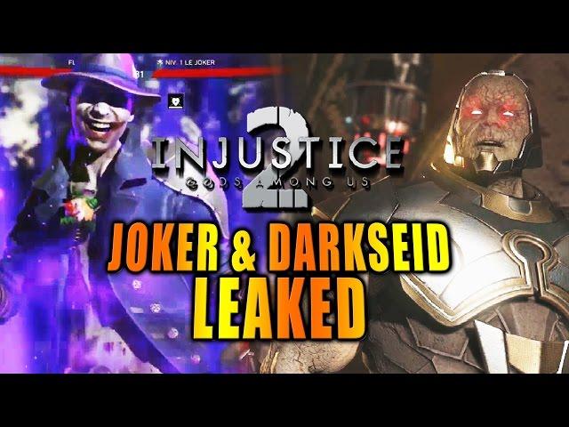 JOKER & DARKSEID LEAKED: Quick Breakdown w/Max (Injustice 2)