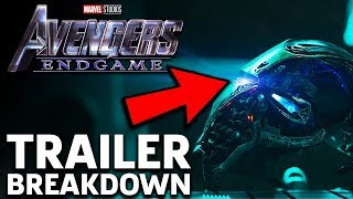 Avengers: Endgame Trailer Breakdown!