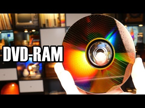 DVD RAM The Disc that Behaved like a Flash Drive