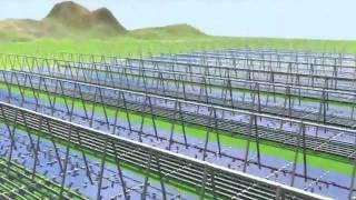 Areva's Kimberlina Solar Thermal Power Plant  Thermal Power Station Videos 2