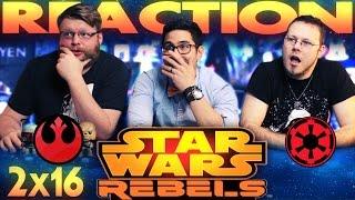 Star Wars Rebels 2x16 REACTION!!