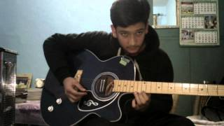 Chahun mai ya na Single String Guitar Tabs Lesson