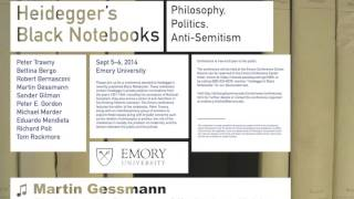 """Heidegger and National Socialism: He Meant What He Said"" by Martin Gessmann, Sept. 2014"