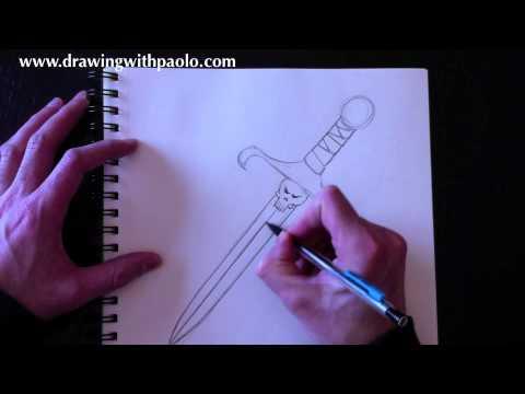 Dessiner une dague avec Paolo Morrone