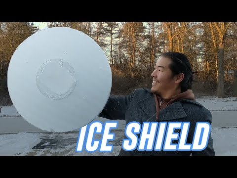 ICE SHIELD bulletproof And a question about gun content