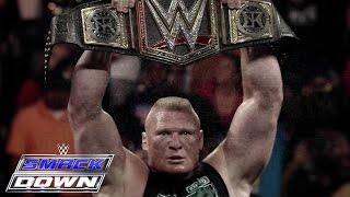 Brock Lesnar vs. Seth Rollins: The Road to Battleground: SmackDown, July 16, 2015