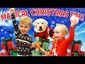 MAGICAL CHRISTMAS WITH A PUPPY!