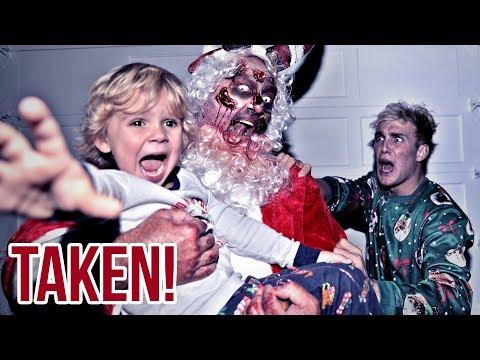 The Zombie Santa TOOK Mini Jake Paul scary