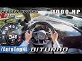 Download Video Download 1000HP AUDI R8 V10 PLUS BiTURBO   Klasen Motors 346km/h AUTOBAHN POV by AutoTopNL 3GP MP4 FLV