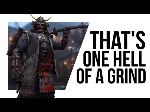 For Honor s Microtransactions would take TWO AND A HALF YEARS to fully unlock