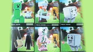 Lego MineCraft Lele Bootleg 79051 Review