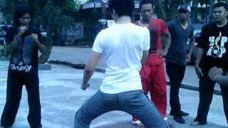 Latihan bertarung Willy dozan dan Leon dozan. ( DUEL ) by beni ardy