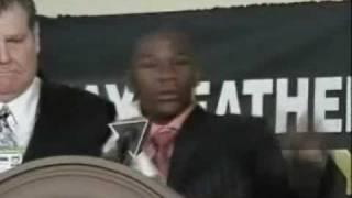 Fear Forced Pussy Boy Floyd into Retirement