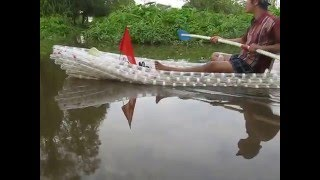 plastic bottle canoe kayak