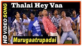 Murugaatrupadai Movie   Scenes   Saravanan's friend gets caught   Thalaye Vaa Song   Navika