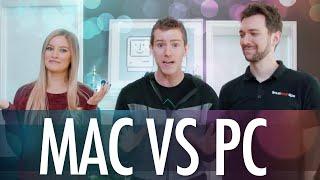 Mac VS PC editing challenge BTS