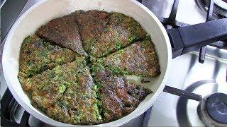 ای اس ام آر فارسی، کوکو سبزی خوشمزه ایرانی | Kookoo Sabzi Recipe - Persian Frittata
