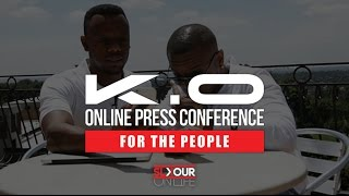 #BalconyInterview: K.O's Online Press Conference On His Album x Cashtime Life