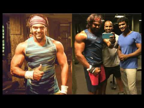 Arya  tamil Actor Arya Gym Workout New Video, Hot Tamil Cinema News