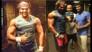Arya  tamil Actor Arya Gym Workout New Video, Hot Tamil Cinema News