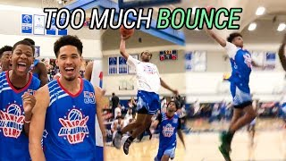 Cassius Stanley, Kyree Walker & Zaire Wade Go FULL SAVAGE! Pangos All American Camp Day 1 HIGHLIGHTS