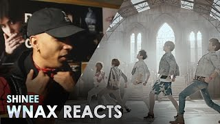 shinee   sherlock  dance version  reaction video wnax