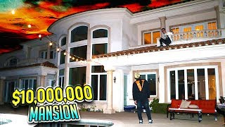 BREAKING INTO A $10,000,000 MANSION (ft. FaZe Rug)