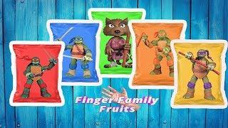 Ninja Turtles Wrong Heads Nursery Rhymes | TMNT Finger Family
