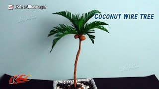 Coconut Paper Tree Tutorial   How to make   JK Arts 800
