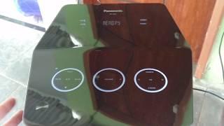 Eita, Tô Gravando Fita K7 no Panasonic SC-UA7 (Ou quase isso...) !!!