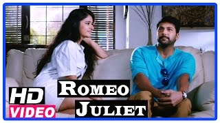Romeo Juliet Tamil Movie | Scenes | Poonam Bajwa proposes Jayam Ravi | Hansika