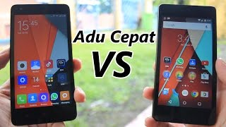 Adu Cepat Android One VS Redmi 2