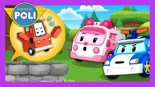 In deep wells, rescue Lifty! | Rescue play for Kids | Robocar Poli Game