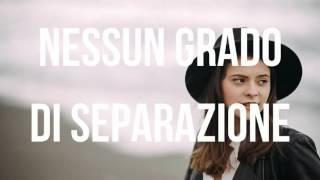 Francesca Michielin   Nessun Grado Di Separazione Lyrics Testo LIVE