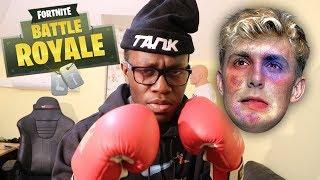 JAKE PAUL TRAINING (Fortnite: Battle Royale)