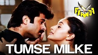 tumse milke aisa laga karaoke with lyrics parinda movie