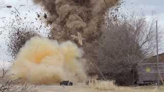 164lbs of Tannerite Kills a Barn