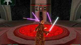 Kotor 2 Darth Traya Battle: LS Consular FLAWLESS