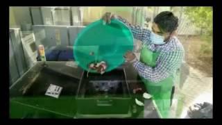 Food waste से Compost खाद बनाती हुई SMS Hydrotech की मशीन