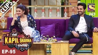 Parineeti & Ayushmann have a Fabulous Time With Kapil - The Kapil Sharma Show - 8th Apr, 2017