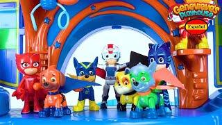 Aprende los Colores - Video Educativo para Niños! Juguetes Paw Patrol y PJ Masks
