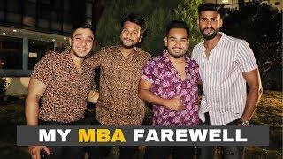MY MBA FAREWELL At ISBR- 2019 || NIKHIL AGRAWAL