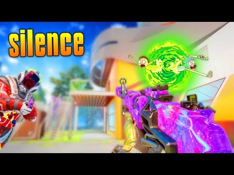 silence (BO3 Search & Destroy Funny Moments) Rick And Morty, Kim Jong Un Diss Track, Clutch Wins!